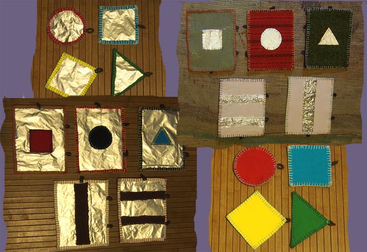 kształty geometryczne - plansze