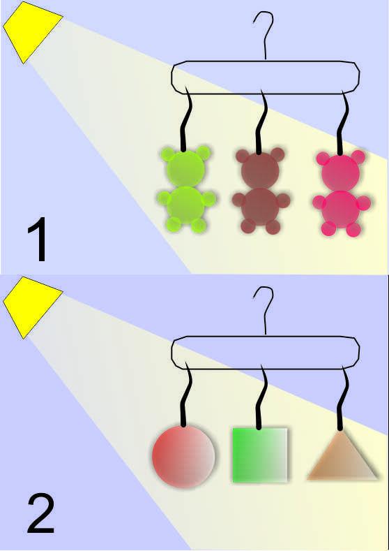 odblaski szkolne uczą kształtów 1