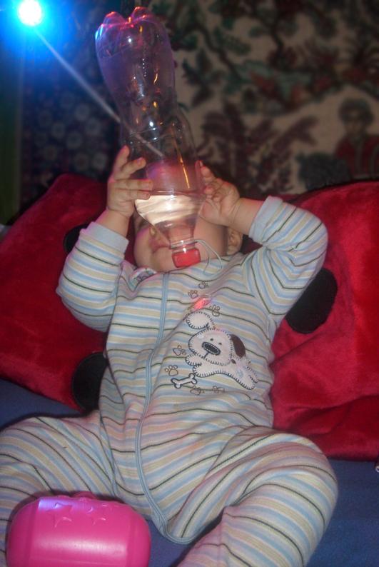 zabawa butelką zz wodą 2