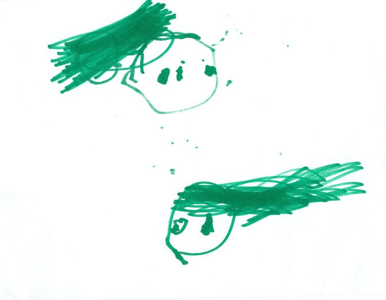 rysunki trzylatka 2