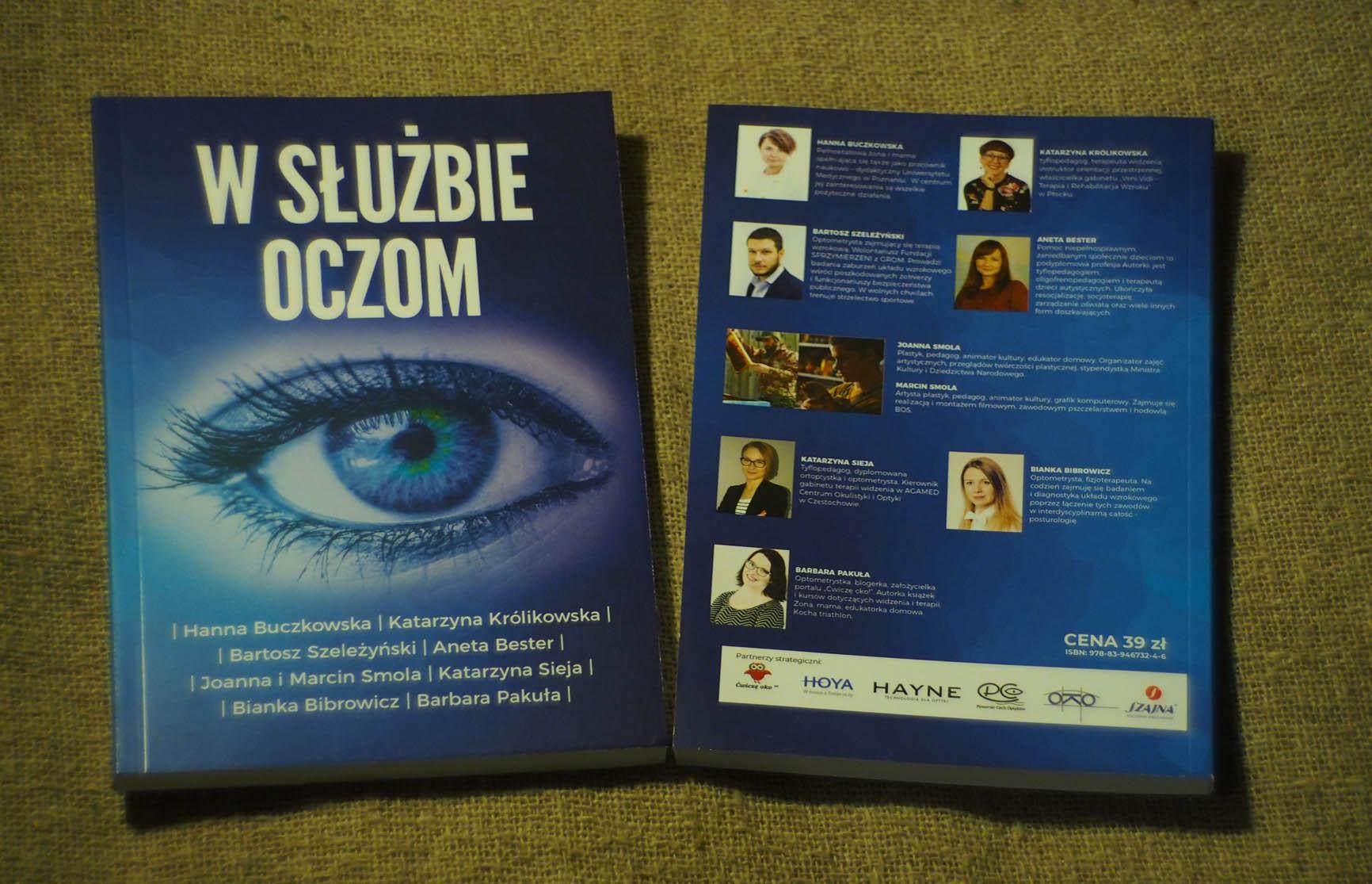 W SŁUŻBIE OCZOM - książka, mamotatopokazmi.pl