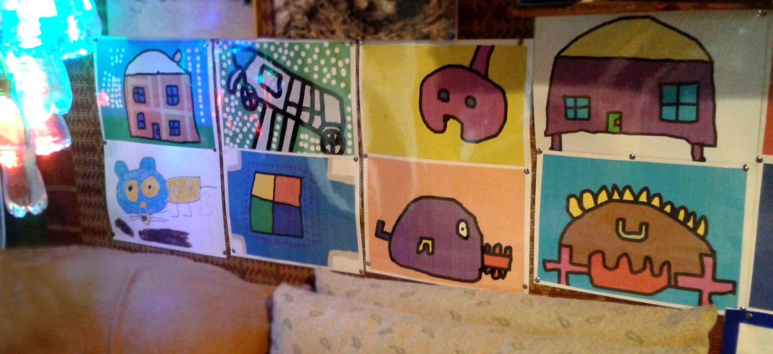 Ilustracje dla dzieci niedowidzących i słabowidzących FolkSmolk, mamotatopokazmipl